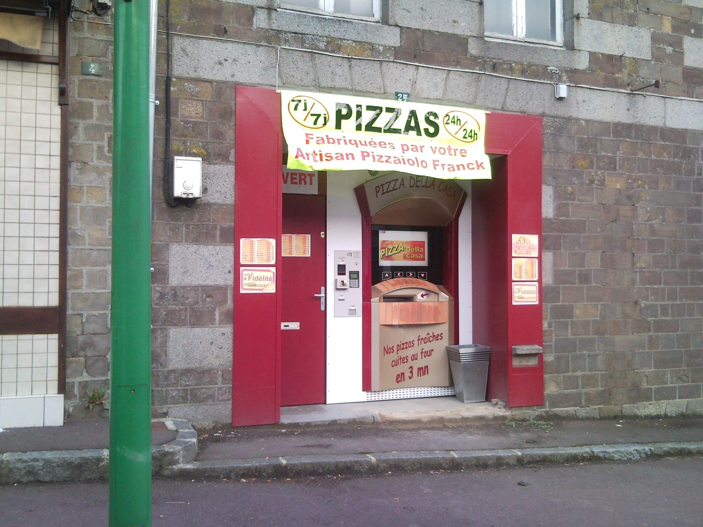 2 me distributeur pizza della casa percy adial pizzadoor. Black Bedroom Furniture Sets. Home Design Ideas
