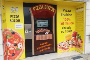 3ème distributeur PIZZA SUZON installé à Doué la Fontaine