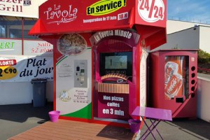 Kiosque «La Tavola Minute» à Minihy-Tréguier