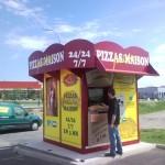 "Distributeur ""La Tagliatelle"" à Sorbiers (42)"