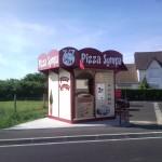 """Distributeur """"Pizza Sympa"""" à La Haye Malherbe"""