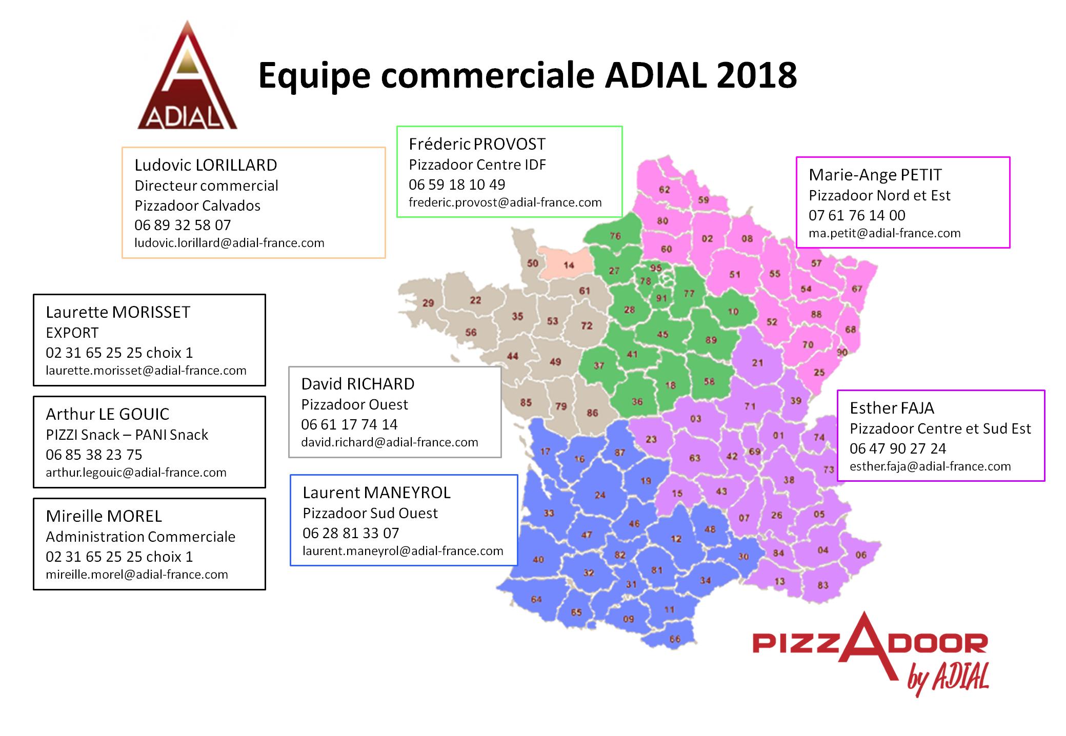 Carte contact commerciaux ADIAL janvier 2018