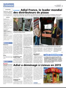 Pays d'auge - Article ADIAL - Janvier 2016
