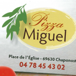 Logo complet PIZZA MIGUEL