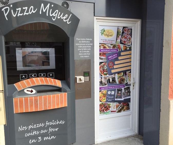2ème distributeur PIZZA MIGUEL à Brindas (69)