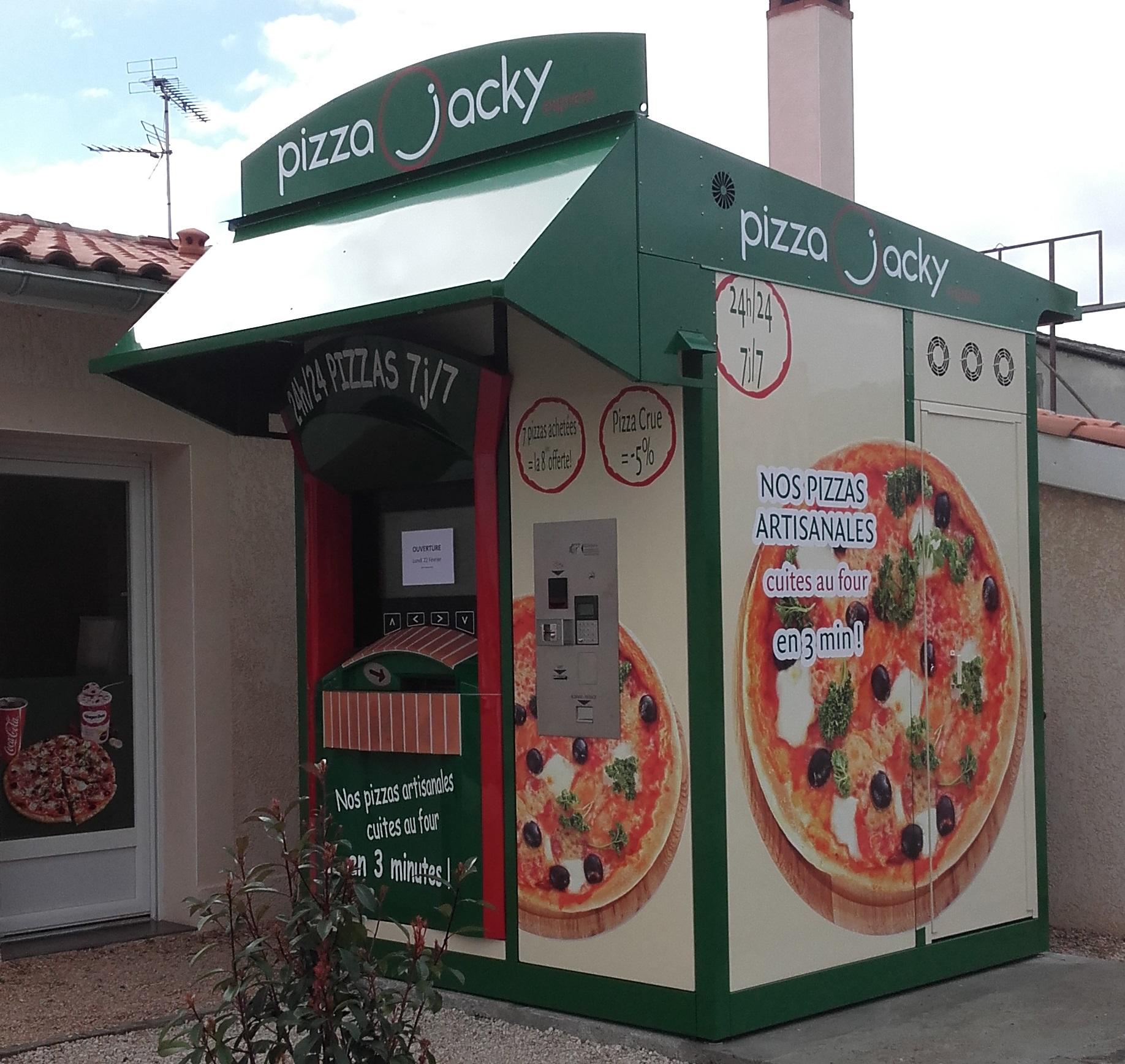 Kiosque PIZZA JACKY à Fronton