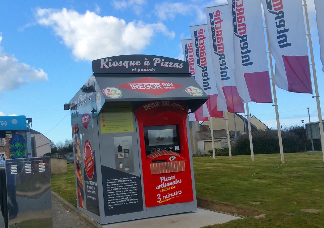 Apres Ploubezre, le TREGOR INN a lancé son 2ème kiosque à Ploulec'h !