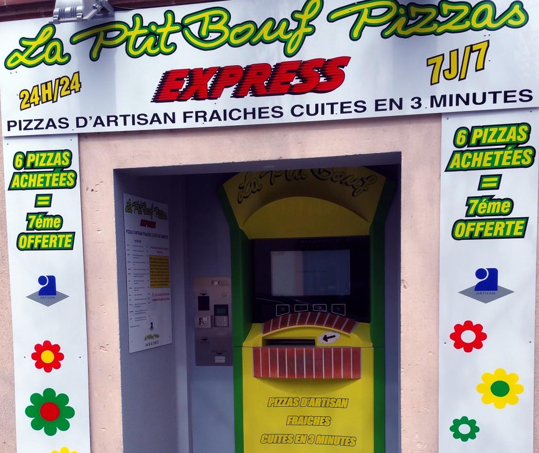 """Le 2ème distributeur """"La Ptit Bouf"""" est installé à Grisolles !"""