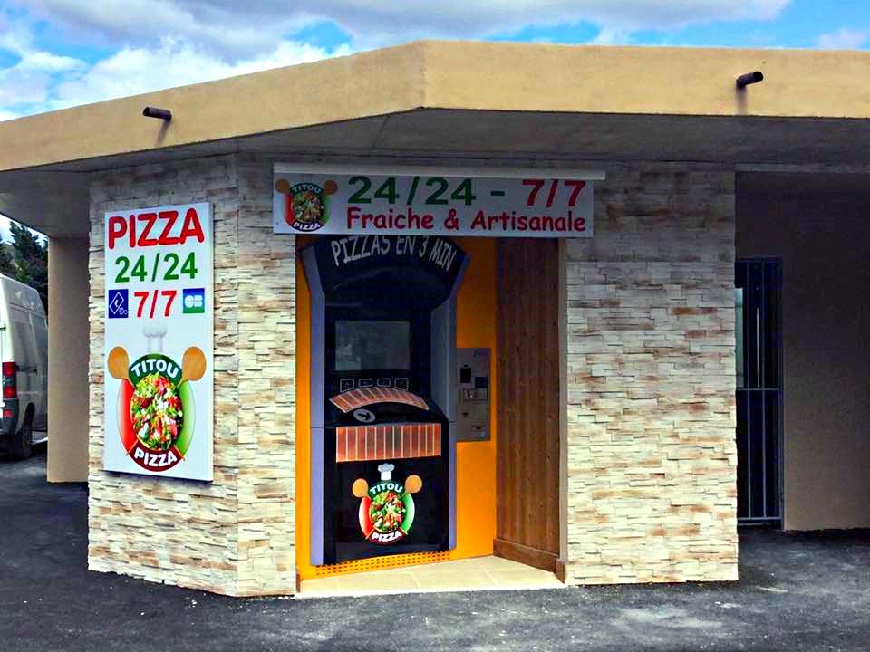 2ème distributeur TITOU PIZZA à Aubenas