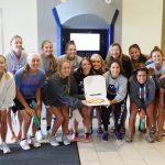Pizza ATM - Equipe feminine de foot - Xavier University - Distributeur ADIAL