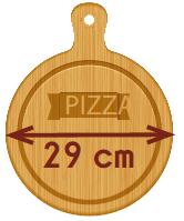 Taille Pizzas PIZZADOOR