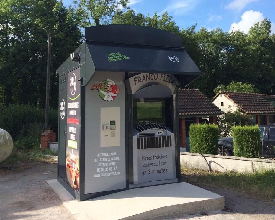 Kiosque FrancÔpizza à Desvres (62)