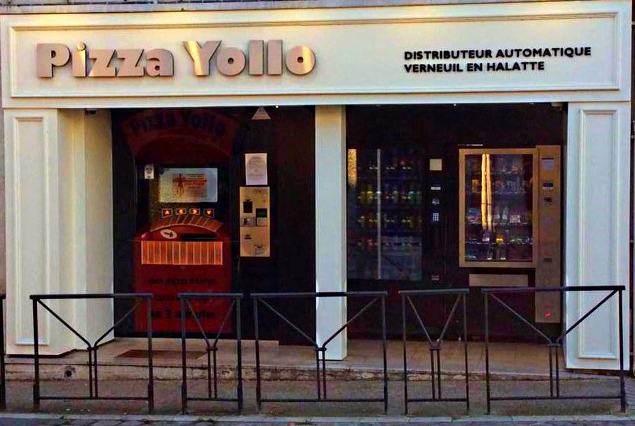2ème distributeur PIZZA YOLLO à Verneuil en Halatte