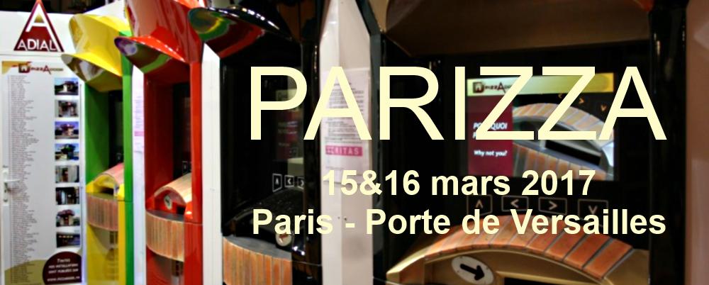 ADIAL au Salon PARIZZA les 15&16 mars 2017