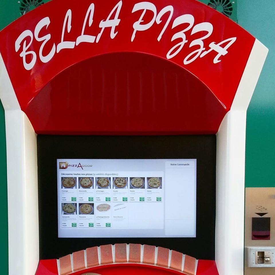 Le distributeur BELLA PIZZA est installé à Marseille !