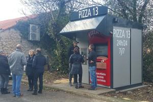 PIZZA 13 a démarré son kiosque à Aubagne !
