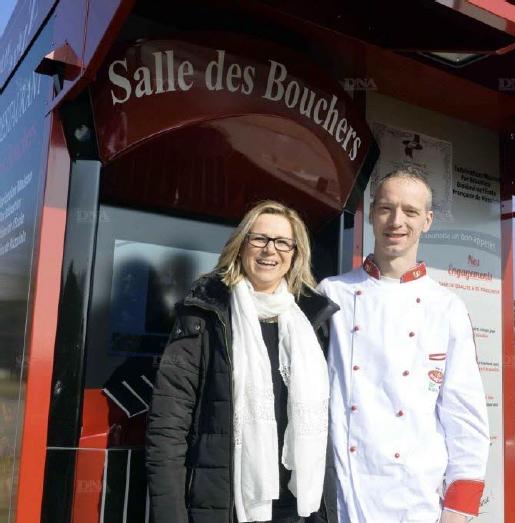 Avec plus de 800 pizzas vendues en dix jours, les résultats dépassent les espérances de Elisabeth et Sébastien Ruhf.