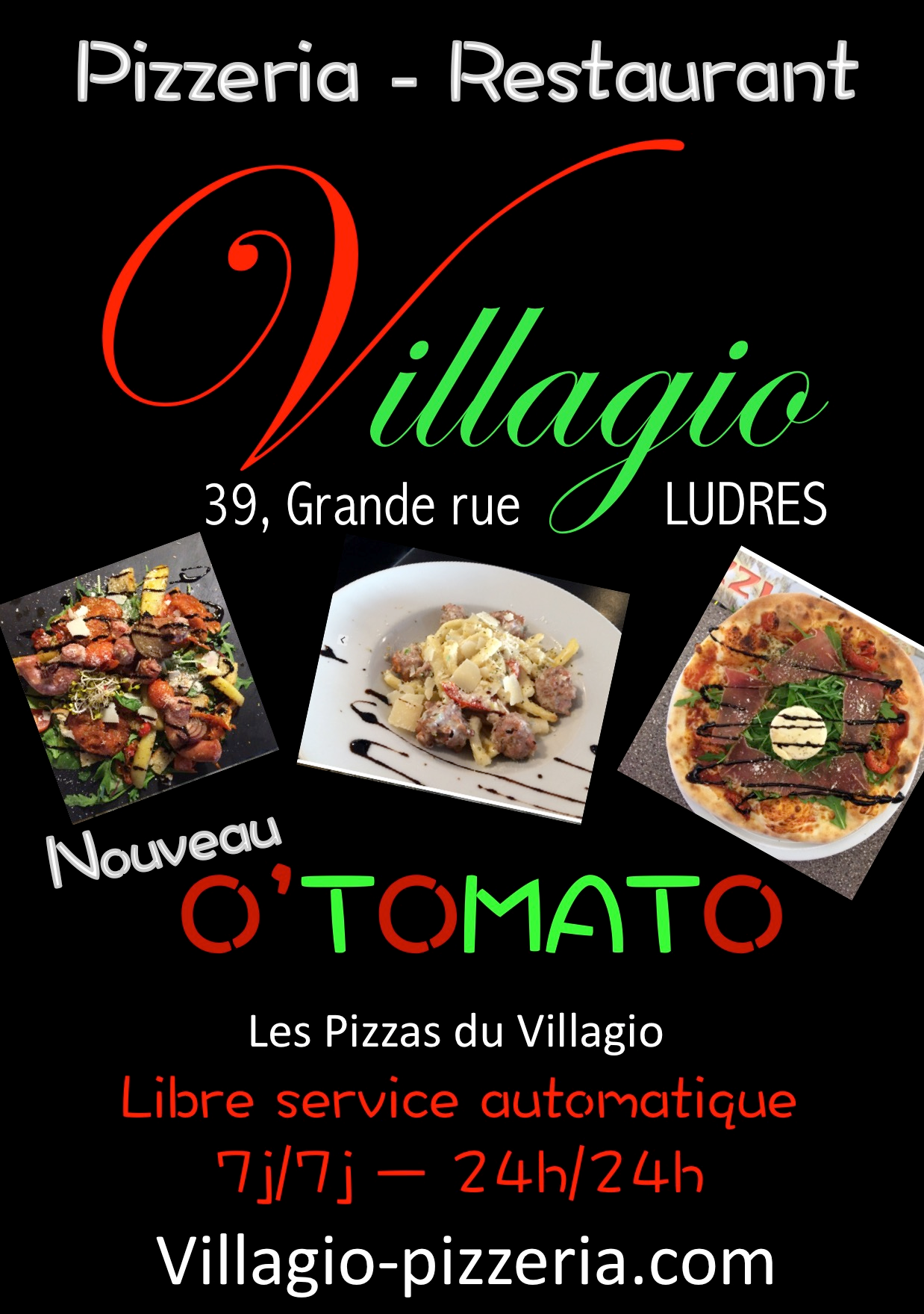 distributeur o 39 tomato dans la pizzeria le villagio ludres adial pizzadoor. Black Bedroom Furniture Sets. Home Design Ideas