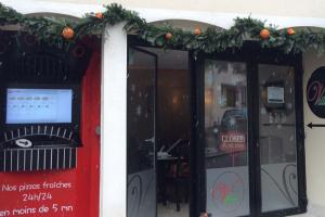 Distributeur O'TomatO dans la pizzeria Le Villagio à Ludres