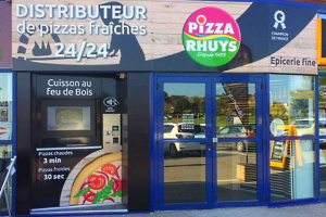 "Distributeur ""Pizza Rhuys"" à Arzon en Bretagne"