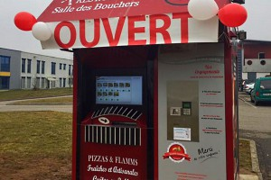 Énorme succès du distributeur de la Salle des Bouchers en Alsace !