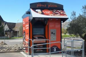 2ème distributeur GIBUS PIZZA : un kiosque à Sauvagnon (64)