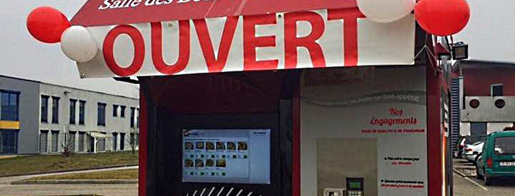 Énorme succès d'un distributeur en Alsace !
