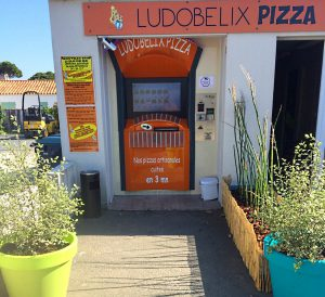 Distributeur Pizza Ludobelix - Ile de re 1