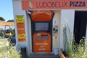 Distributeur de pizza LUDOBELIX à l'Ile de Ré