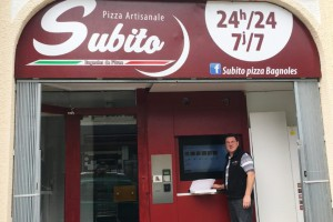 Distributeur Subito Pizza à Bagnoles de l'Orne