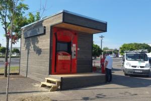 """Distributeur """"Le Tour de Pizz"""" à Saint Eloy les Mines"""