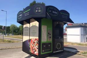 """Kiosque à pizza """"Le Velobre"""" à Breuil le Vert dans l'Oise"""