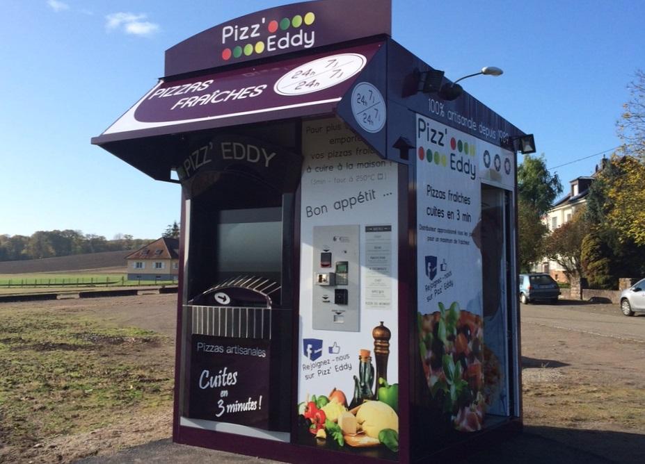 1, 2 et 3 kiosques PIZZA EDDY en 1 mois !