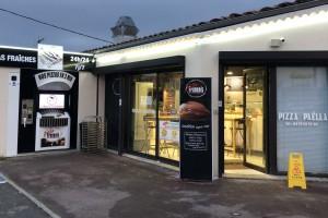 Distributeur PIZZA FRANCOIS dans la pizzeria !