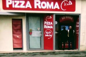 """Distributeur """"La Roma"""" à Isigny sur Mer"""