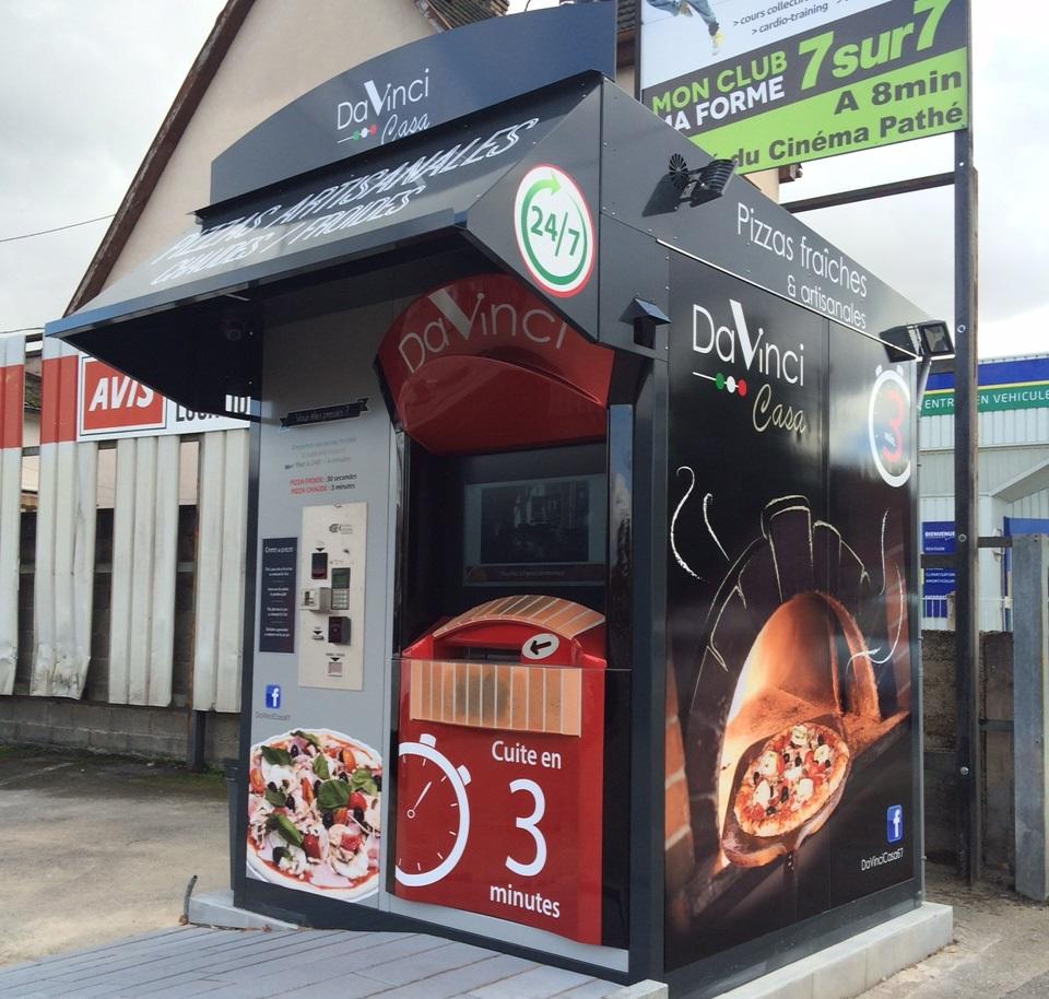 """Kiosque """"Da Vinci"""" à Haguenau"""