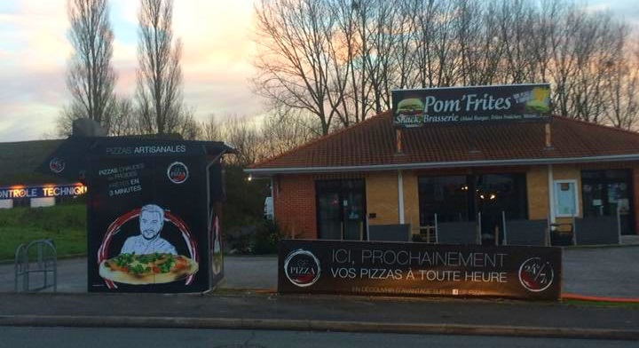 Carte Kiosque A Pizza.Kiosque Automatique Gf Pizza A Attin 62 Adial Pizzadoor