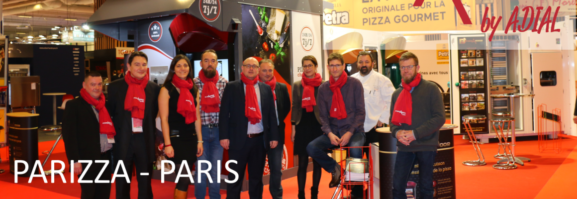 ADIAL au Salon PARIZZA les 4 et 5 avril 2018