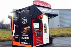 """3ème Kiosque """"De Storig Kaschte"""", dit """"La Cigogne"""" en Alsace !"""