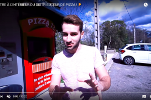 Reportage sur les 2 kiosques PIZZA 13 à Aubagnes !