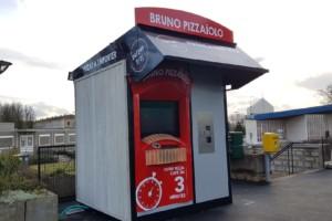 """Kiosque """"Bruno Pizzaiolo"""" installé à Langres"""