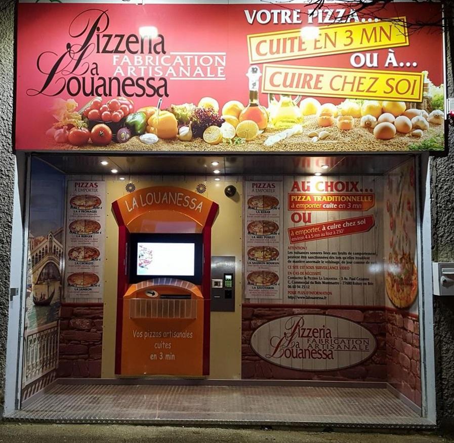 Distributeur automatique par la Louanessa à Pontcarré