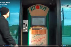 2ème distributeur PIZ'O'MAT en Suisse