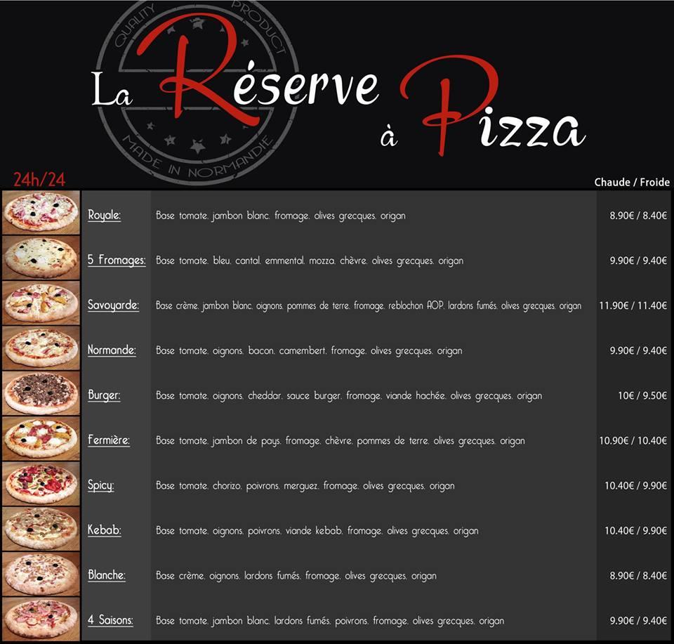 Carte Kiosque A Pizza.Kiosque La Reserve A Pizza A Pont Herbert 50 Centre Formation Adial