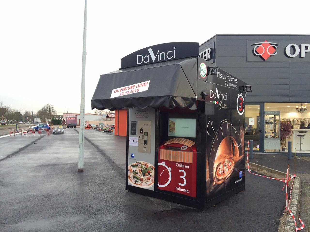 """2ème Kiosque """"Da Vinci"""" à Schweighouse sur Moder"""