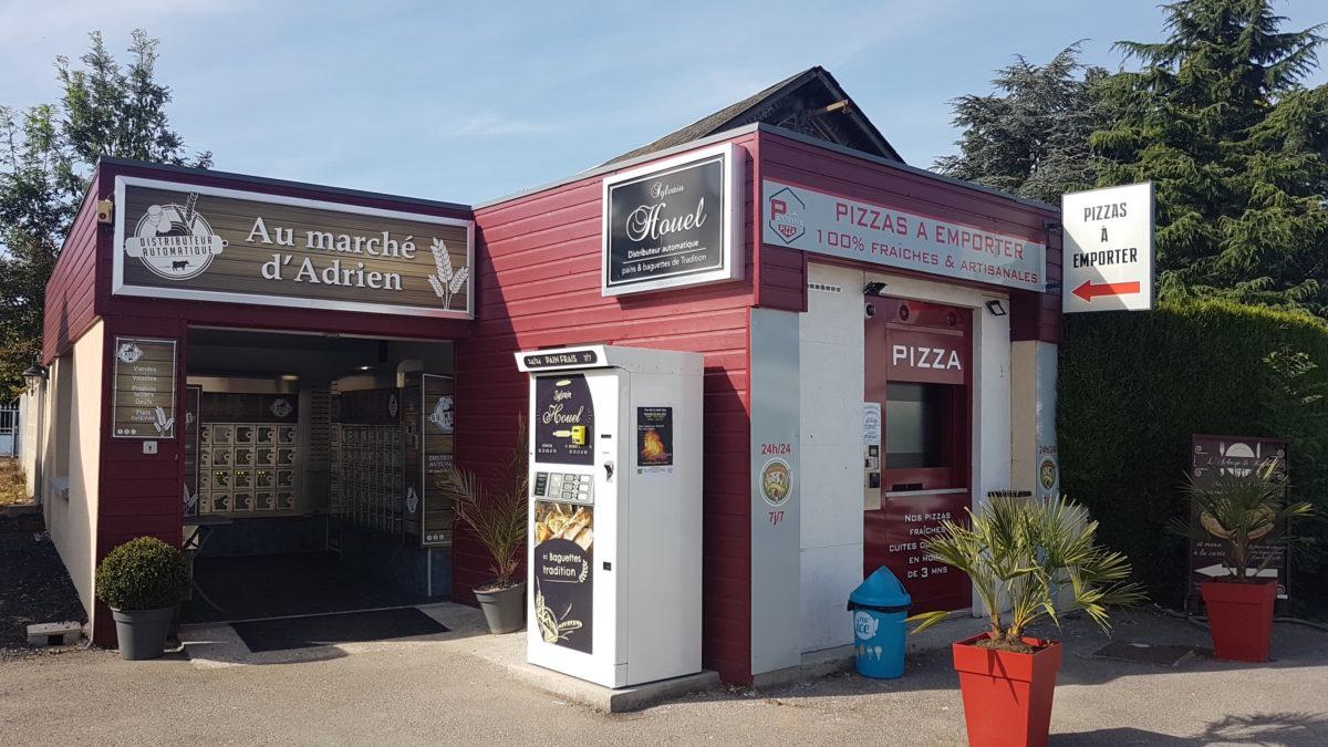 """2 distributeurs """"La Pât'Fine"""" à St Jacques sur Darnetal et Malaunay"""