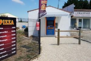 Distributeur Pizza IOLO sur l' Ile d'Oléron