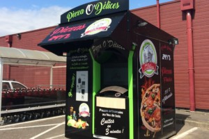 Kiosque Pizza O'DELICES à Reichshoffen (67)