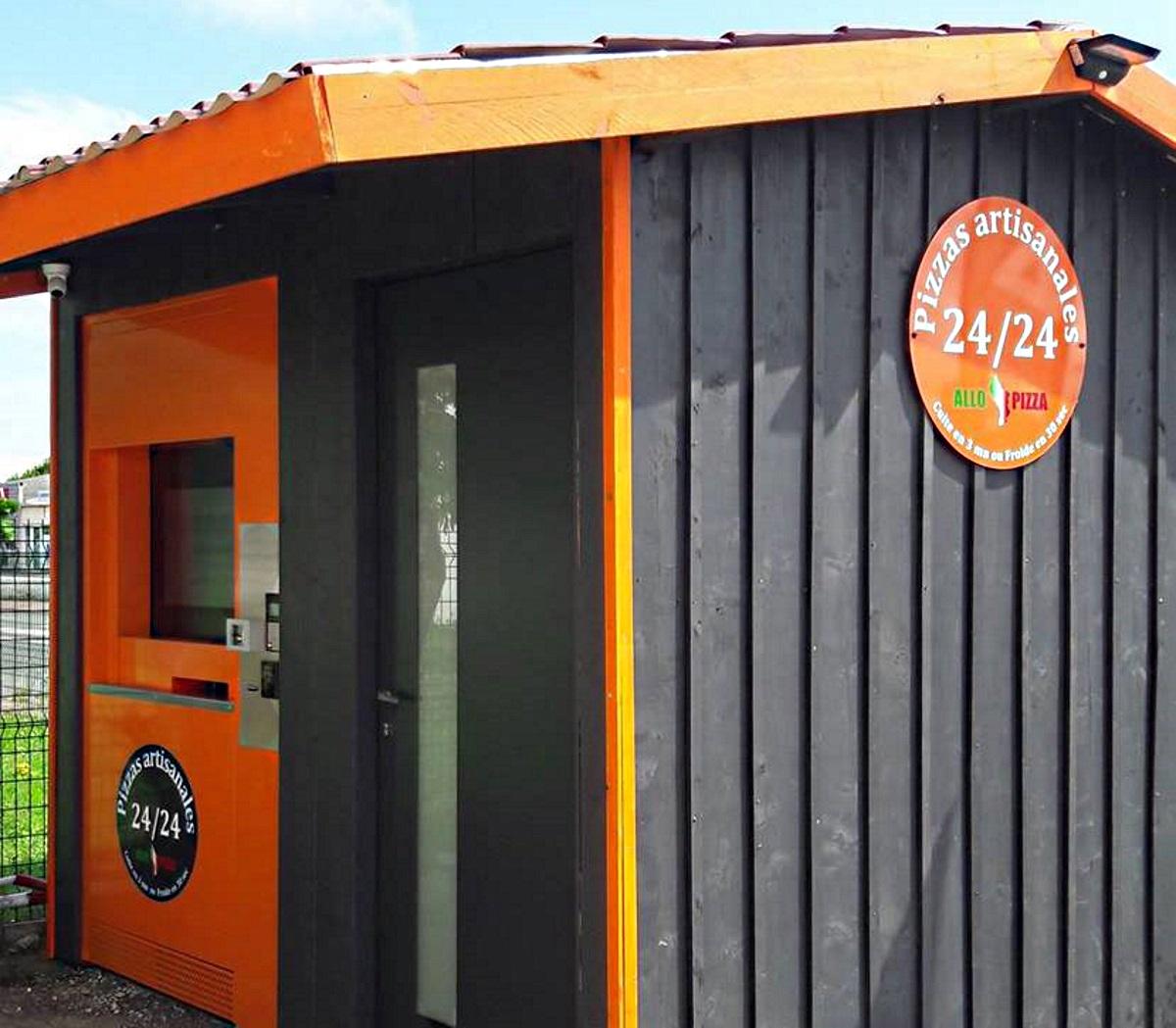 Distributeur Allo Pizza Oleron à Saint Pierre d'Oléron – Ile d'Oléron (17) !