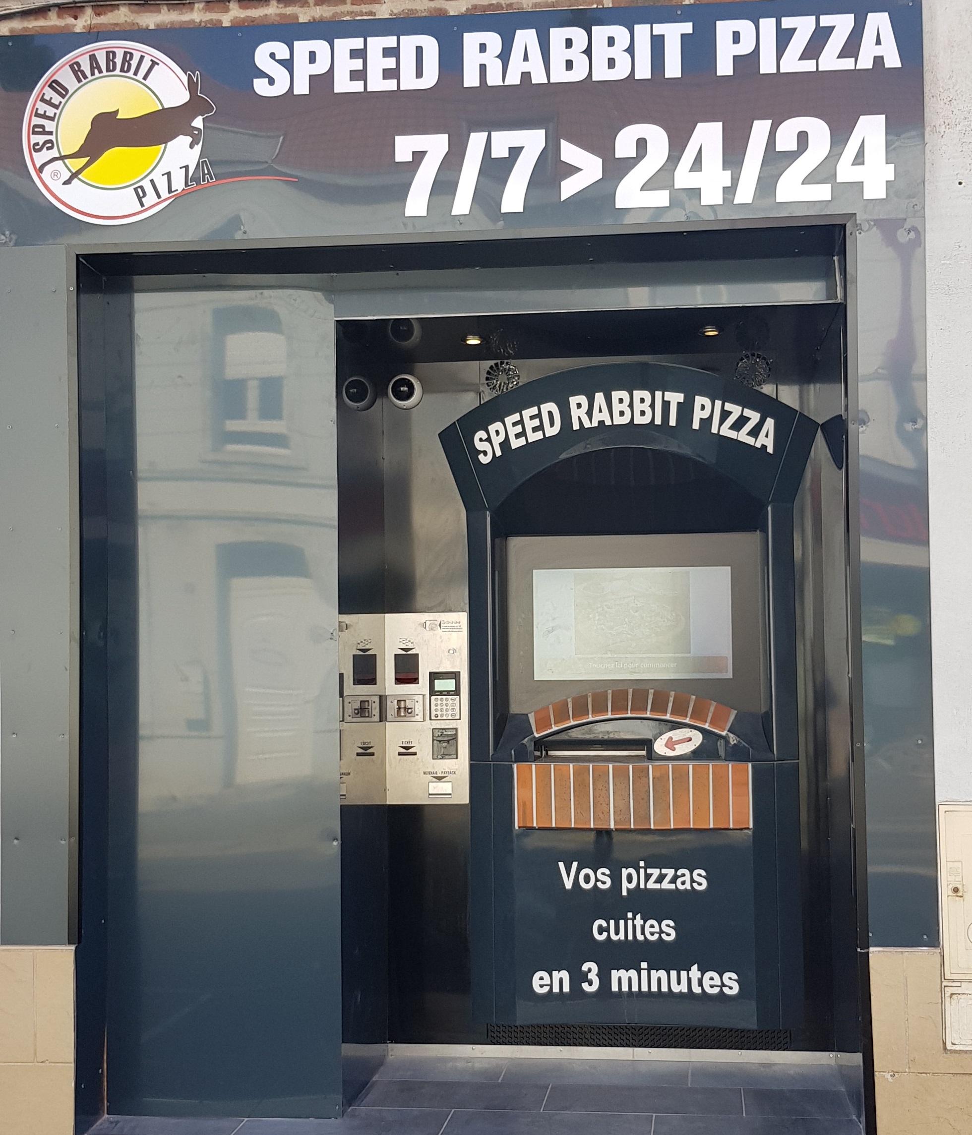 Distributeur Speed Rabbit Pizza à Vitry en Artois (62) !